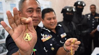 perak police cripple geng 04 and detain 36 suspects