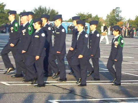 AF JROTC Drill Team West Stanly High School