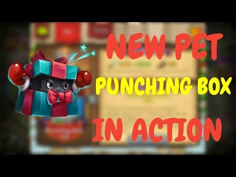 NEW PET I Punching Box In Action L Castle Clash