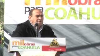 Entrega Gobernador Rubén Moreira modernización del bulevar Río Nazas