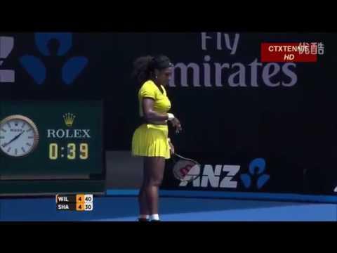Serena Williams VS Maria Sharapova Highlight 2016 Australian Open QF