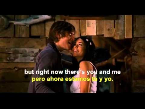 Right here, Right now -High School Musical 3 (english - spanish lyrics)