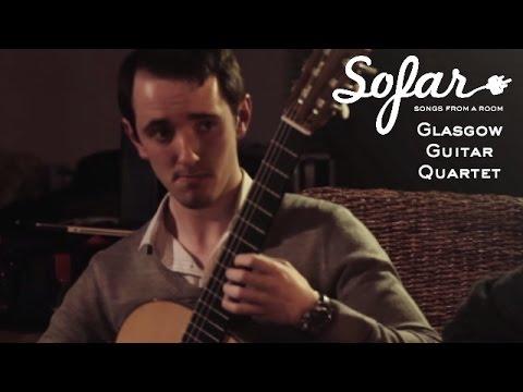Glasgow Guitar Quartet - Um Mitternacht (Rückert Lieder) | Sofar London