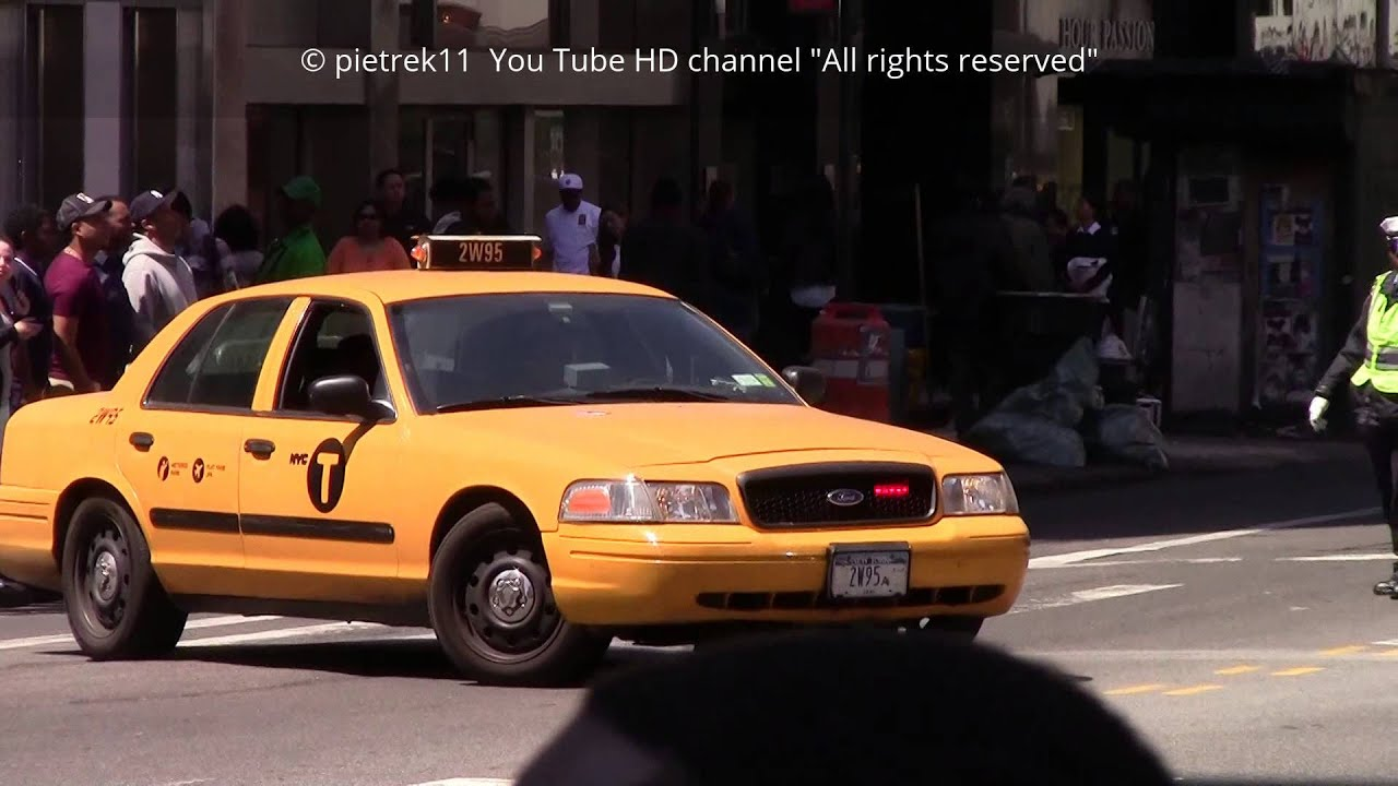 The Nypd Undercover Police Taxi Of The Taxi Squad New