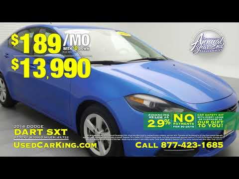 Used Car King Annual Year End Sales Event Infomercial