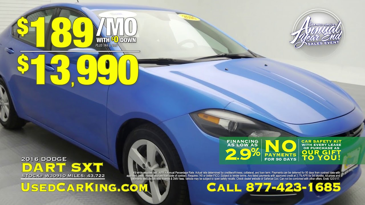 Used Car King Annual Year End Sales Event Infomercial Youtube