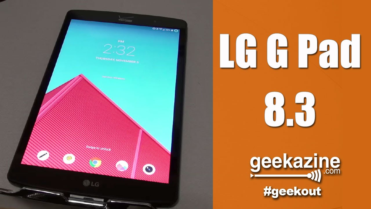 LG G-Pad 8 3 Android Tablet with Full Size USB