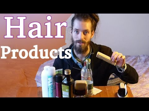 All My Hair Products & Tools • Men With Really Long Hair