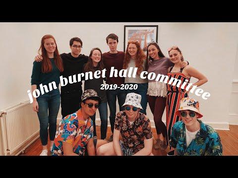 Meet The Committee | John Burnet Hall 2019/20