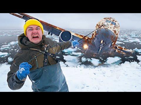 Подняли со дна гигантские жуткие находки, где затонул самолет во время магнитной рыбалки!