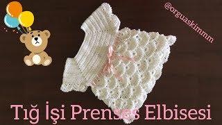 Tığ İşi Prenses Bebek Elbisesi Nasıl Örülür?