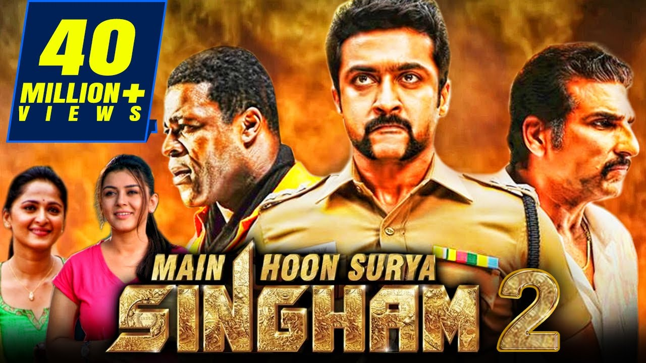 Download Main Hoon Surya Singham 2 Tamil Hindi Dubbed Full Movie | Suriya, Anushka Shetty, Hansika