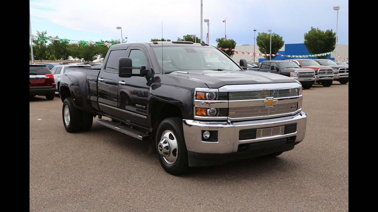 Pre owned 2015 Chevrolet Silverado 3500HD LTZ for sale in Medicine