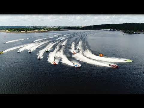 UIM F2 Grand Prix - Accident - 2017 Lithuania