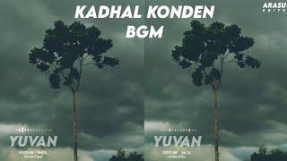 Kadhal Konden BGM🎶 Whatsapp Status | Yuvan BGM