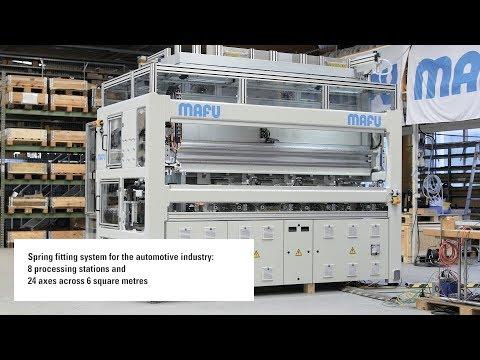 HN 200 Linear Motor Axes in use