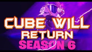 FORTNITE - NEW SEASON 6 TEASER - LEAKED CUBE WILL RETURN IN SEASON 6 WITH DJ LLAMA SKIN