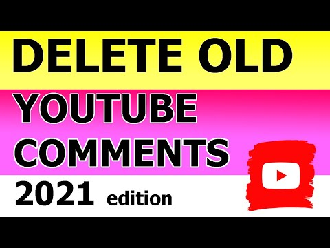 How To Delete YouTube Comments In 2021