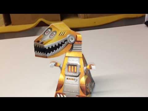 Book of Impossible Objects with Incredible T-Rex illusion!