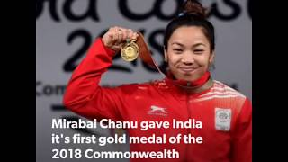 India at 2018 CWG: Weightlifters give India a gold & silver on day one