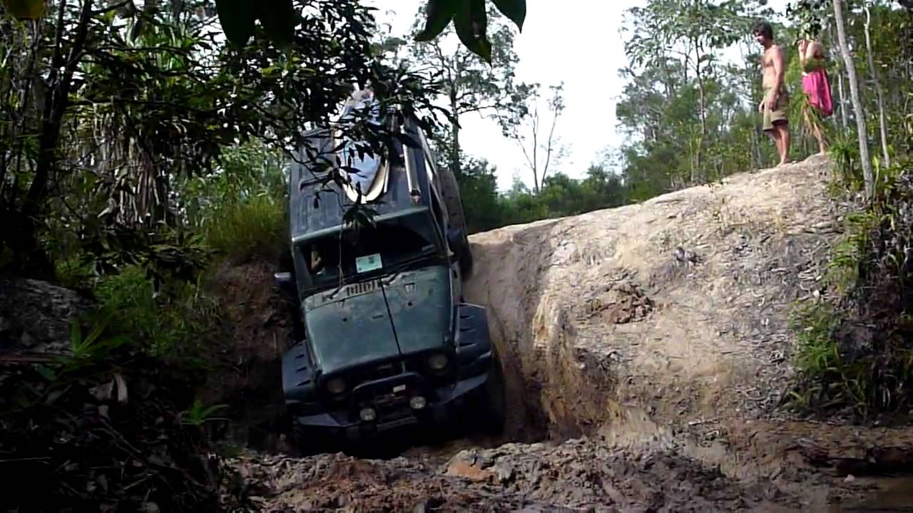 Jk Jeep Camprite Camper Trailer Gunshot Creek Cape York