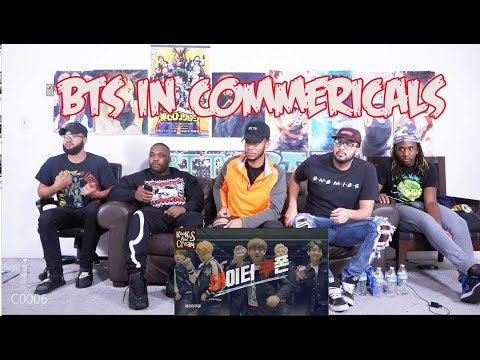 BTS In Commercials Compilation | REACTION/REVIEW