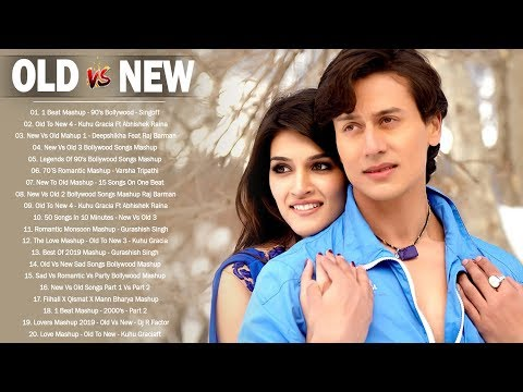 Old Vs New Bollywood Mashup Songs 2020  Hindi Songs 2020 90's Romantic Mashup  Indian Songs Live