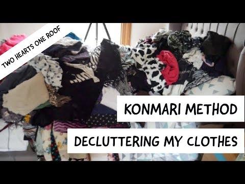 KonMari Method - Decluttering Clothes