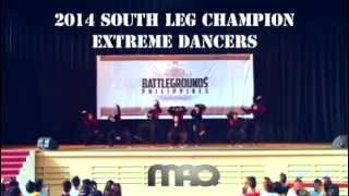 World Supremacy Battlegrounds Philippines South Leg 2014 - EXTREME DANCERS (CHAMPION)