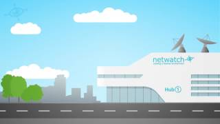 How the Netwatch CCTV Security System works