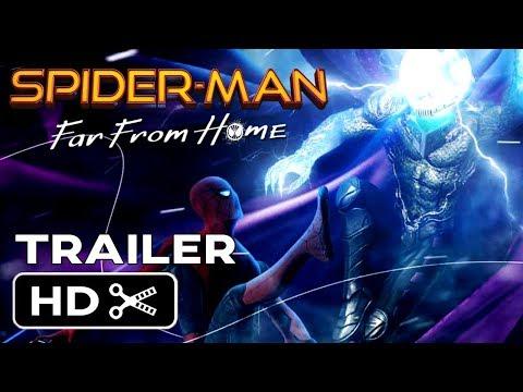 Spider-Man Far From Home (2019) Concept Teaser Trailer #1 – Tom Holland Superhero MARVEL Film