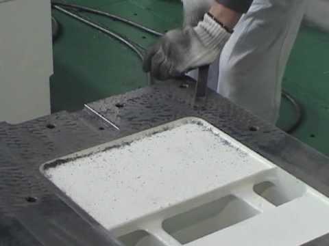 Kitamura Hand Scraping of a Horizontal Machining Center