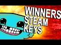 FREE STEAM KEYS - WINNERS