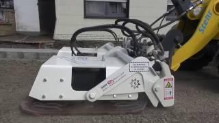 Energieeffiziente Verdichtung - Stehr Plattenverdichter SBV 160-2