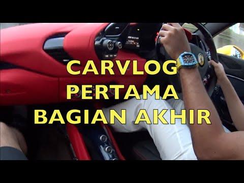 #carvlog Pertama w/ President Ferrari Owner Club Indonesia - 488 GTB Jakarta, Part Akhir