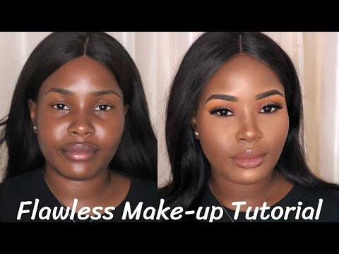 Full Face Flawless Makeup Tutorial | BROWN SKIN GIRL | Mercy Exquisite