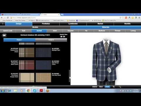 Interview Discussing Dormeuil Fabrics For Men's Clothng