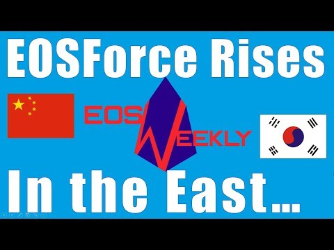 EOSForce Rises In The East...