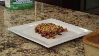 Apple Cranberry Crisp Recipe -  A Perfect Thanksgiving  Dessert By Rockin Robin