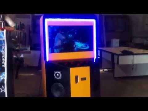 Jukebox de 32 polegadas Raspberry PI e aplicativo Virtual Jukebox