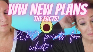 NEW WW plan upḋate plus my weigh in   New plan FACTS