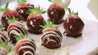 노 오븐 디저트2 - ep.01 : 전자레인지 딸기 퐁듀 초콜릿