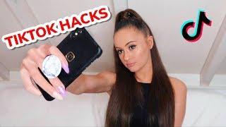 TIKTOK HACKS & TRANSITIONS | Holly H