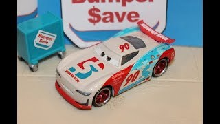 Mattel Disney Cars 3 Paul Conrev (Next-Gen Bumper Save #90) Piston Cup Competition 5-Pack
