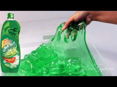 Cara Membuat Sunlight Slime Jumbo   Clear Slime
