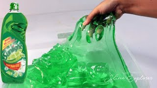 DIY Sunlight Slime | Make Clear Slime With Dishsoap