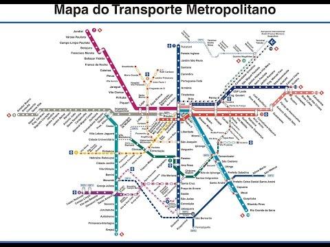 São Paulo para Iniciantes dicas especiais - Aiport Bus Service e  Metrô - Parte 1