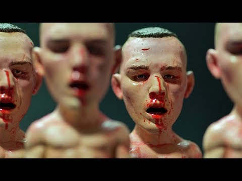 250 Rory Macdonald Sculptures hand-painted by The Tran Brothers