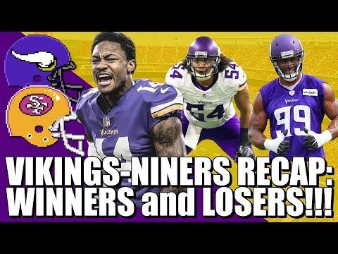Vikings-Niners Recap: Winners & Losers!