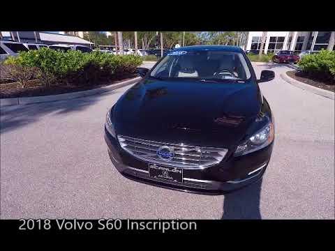 Volvo Of Bonita Springs >> Used 2018 Volvo S60 Inscription Near Fort Myers And Bonita Springs